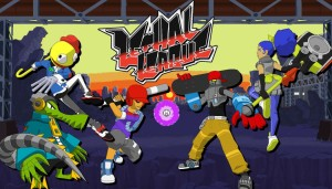 Lethal League can hold up to 4 players, and functions a lot like Smash Brothers. Image found at --> http://www.bliptalk.org/wp-content/uploads/2014/12/lethal-league-featured-1050x599.jpg