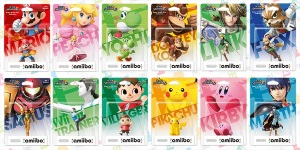 Current amibos for Smash for WiiU; image found at http://www.techtimes.com/articles/27666/20150120/the-ultimate-amiibo-guide-what-games-they-work-in-and-what-they-do.htm